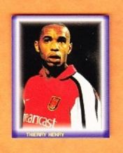 Arsenal Thierry Henry France (P)